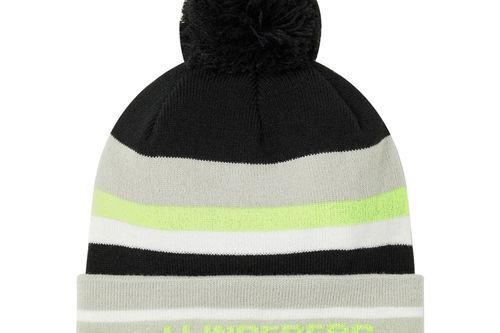 J.Lindeberg Stripe Beanie Hat - Image 1