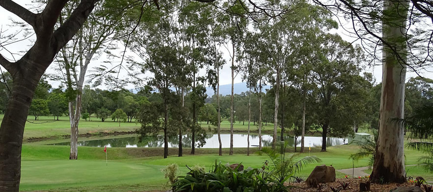 18 Holes For Two in a Motorised Cart at Beaudesert Golf Club