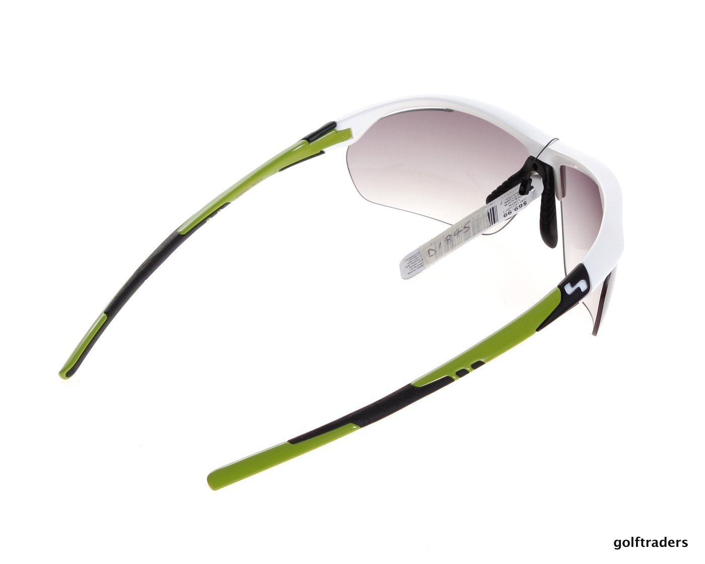 SUNDOG MENS SPORTS/GOLF SUNGLASSES #434117 UVA/B -WHITE ...