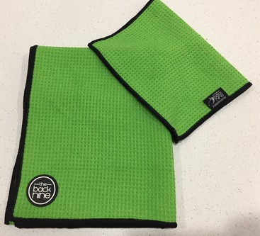 Preview fit aqua pro  waffle weave twin pack lime black